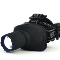Free Shipping Arrival 3 Mode Q5 1000 Lumen LED Zoomable Headlamp Head torch Light Lamp for 3*AAA battery