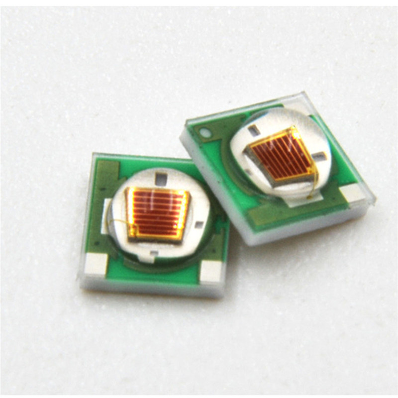 LED lamp Beads SMD3535 660nm Led Spotlight BulbChip Emitter Floodlight plant growth growing Lights Bulbs bead water clear Lens