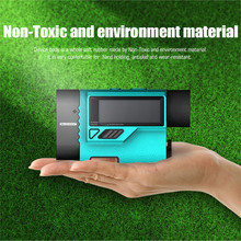 Mileseey PF3S Golf Laser Rangefinder Telescope 600m Laser Distance Meter Golf hunting Laser Range Finder with Flag-Lock 1500m