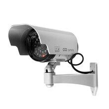 Fake Dummy camera Solar powered indoor outdoor Dummy security camera Bullet cctv camera surveillance camaras de seguridad