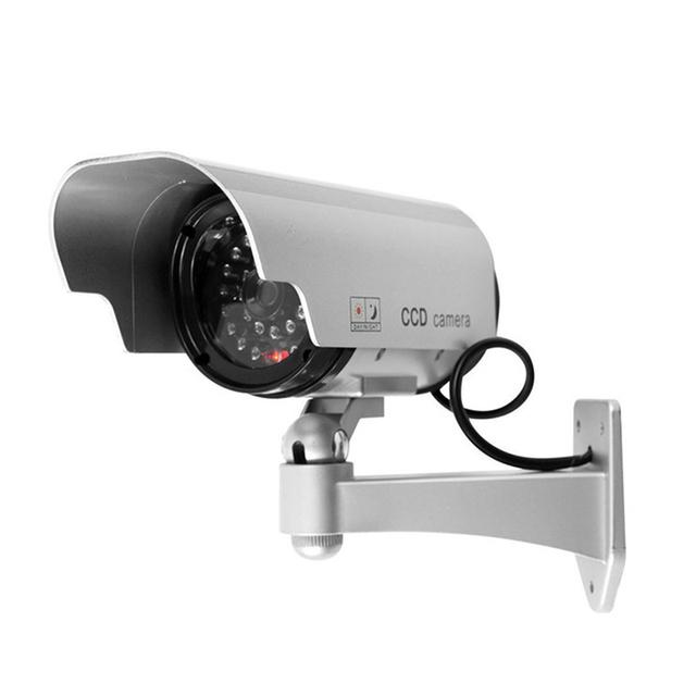 Manequim câmera falso Manequim movido a energia Solar ao ar livre indoor câmera de segurança cctv câmera de vigilância de Bala camaras de seguridad