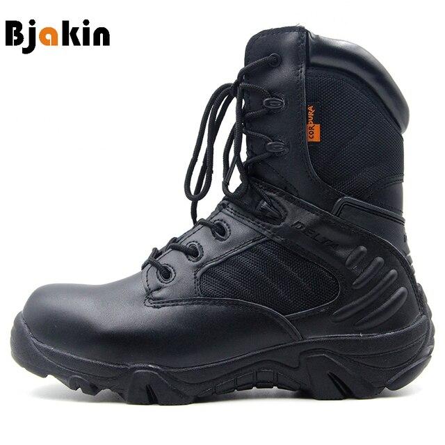 Bjakin Hombre Tactical Zapatos Botas Professional Mountain Climbing Zapatos Tactical 22d381