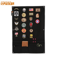 EXCELLENT ELITE SPANKER Tactical Badge Board Folding Mat Sticker Holder for Hunting Army Morale Patch Badge Utility Panel