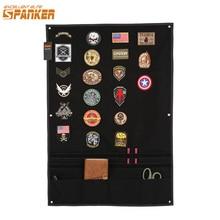 EXCELLENT ELITE SPANKER Tactical Badge Board Folding Mat Sticker Holder for Hunting Army Morale Patch Badge Utility Panel