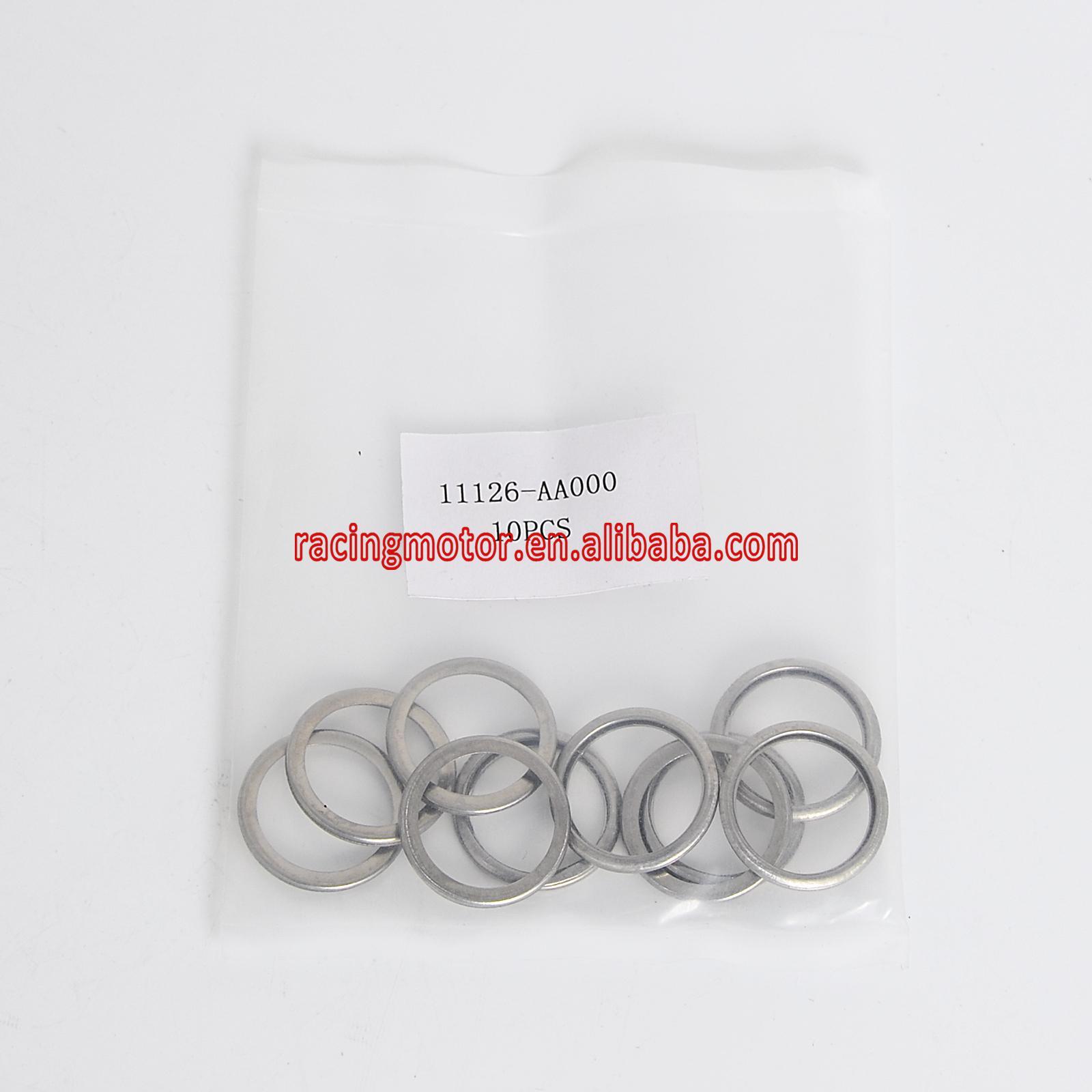 10 PC Bouchon de Vidange D'huile Rondelle de Joints 11126-AA000 pour Subaru