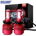 Oslamp 2pcs H7 80W Car LED Headlight Bulb CREE SMD Chips Led Headlights Auto Front Headlamp Fog Light Bulbs 12v 24v 9600LM 6500K