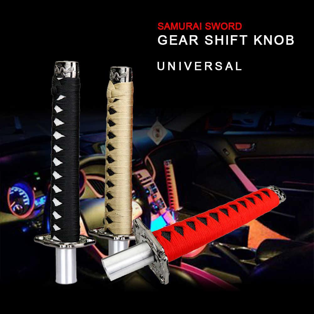 R-EP Автомобильный Универсальный самурайский меч ручка переключения 25 см Катана ручка переключения передач для автомобиля запасные части