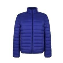 Autumn Winter New Men Lightweight Thin Down Jacket Casual Ultralight Male Feathe