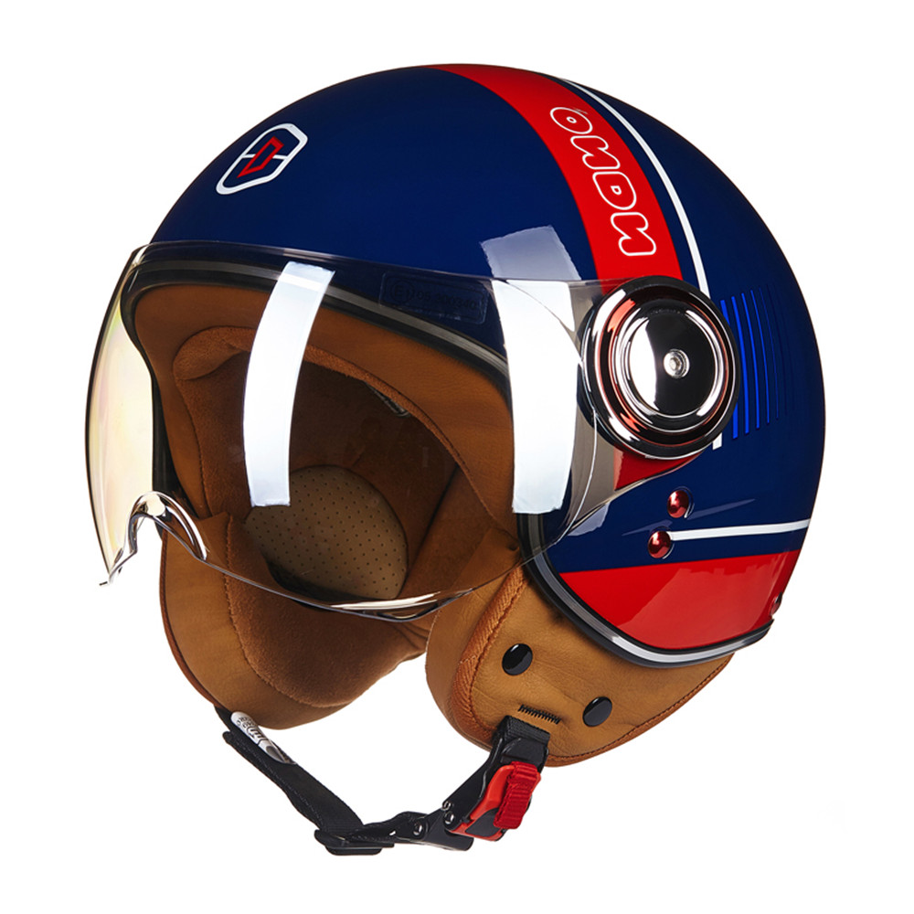 Brand New Retro Motorcycle Helmet Chopper 3/4 Open Face Vintage Helmet 110 Moto Casque Casco motocicleta Capacete Unisex helmets brand new vintage helmet torc retro motorcycle helmet for chopper bikes for harley bikes motorcycle helmet