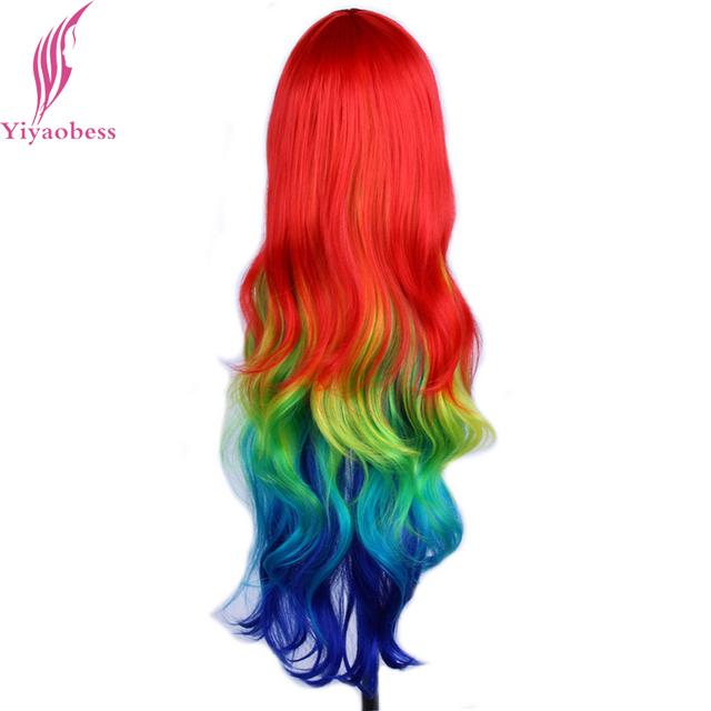 32″ Harajuku Multi Color Cosplay Wig