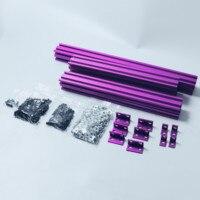 다채로운 am8 3d 프린터 압출 프로파일 금속 프레임-anet a8 업그레이드 용 전체 키트