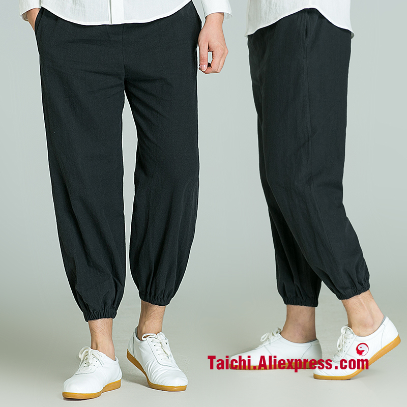 New Arrive Tai Chi Pants  Kung Fu Yoga Trousers 4 Colors