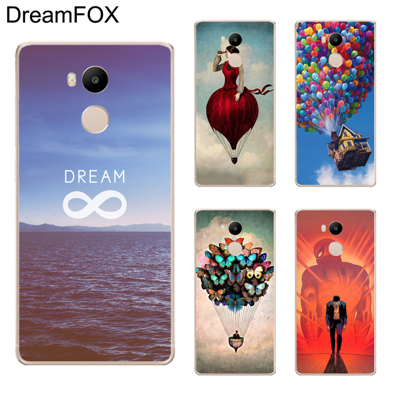 DREAMFOX K071 Dream On Style Soft TPU Silicone Case Cover For Xiaomi Redmi Note 3 4 5 Plus 3S 4A 4X 5A Pro Global ...