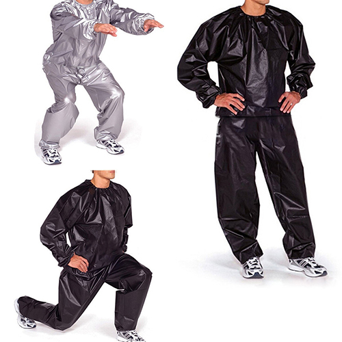 Men Women Fitness Loss Weight Long Sleeve Sweat Sauna Suit Exercise smt 87