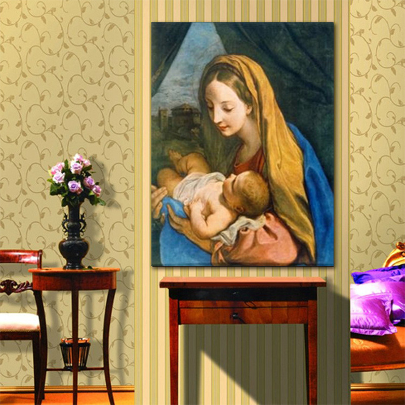 Funky Virgin Mary Wall Art Image Collection - Wall Art Ideas ...
