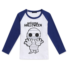 New Arrival Kids T Shirt Boys Raglan Long Sleeve Tops Cotton Children Clothing Funny Mummy Printing Fashion Baby Boy Tshirt