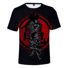 2019 Summer Mens Clothing Dragon Ball T-Shirts men/women/Childrens Clothes Super Saiyan Black t-shirt Sun Wukong tshirt boy girl