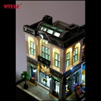 LED Light Up Kit For Lego Lepin Building Bricks Creator Brick Bank Model Building Blocks 15001