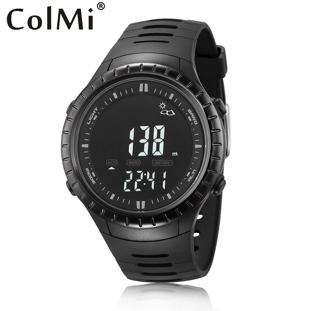 ice watch st rs s s 10 watch ColMi Smart Watch S4 Fishing Pressure Clock 5 ATM Waterproof Altitude Temperature Sport Smartwatch