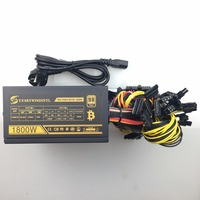 Free Ship Computer Mining Power 1800W Psu PC Power Supply 12V 24PIN 8PIN For Miner High