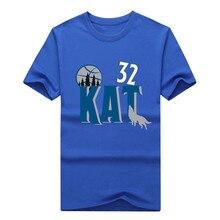 "New Karl Anthony 32 Towns ""KAT""  Men's T-Shirt Fashion KAT T SHIRT 1022-5"