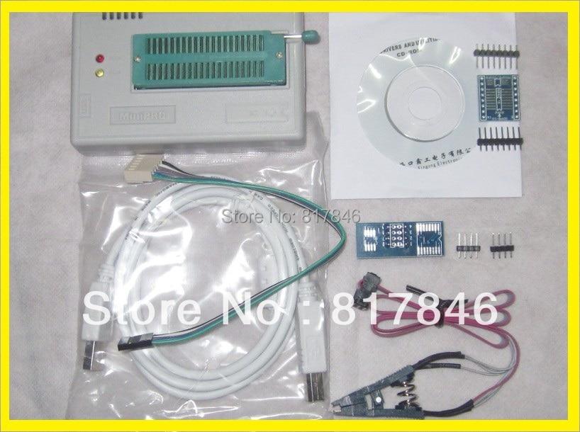 Russian Files XGECU V8.08 TL866A TL866II Plus nand flash 24 93 25 MiniPro BIOS EEPROG USB Universal Programmer+3items цены