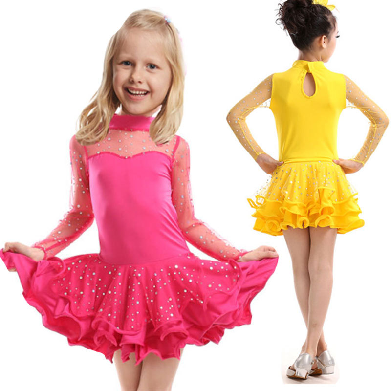 Compare Prices on Ballroom Dancing Dresses for Girls- Online ...