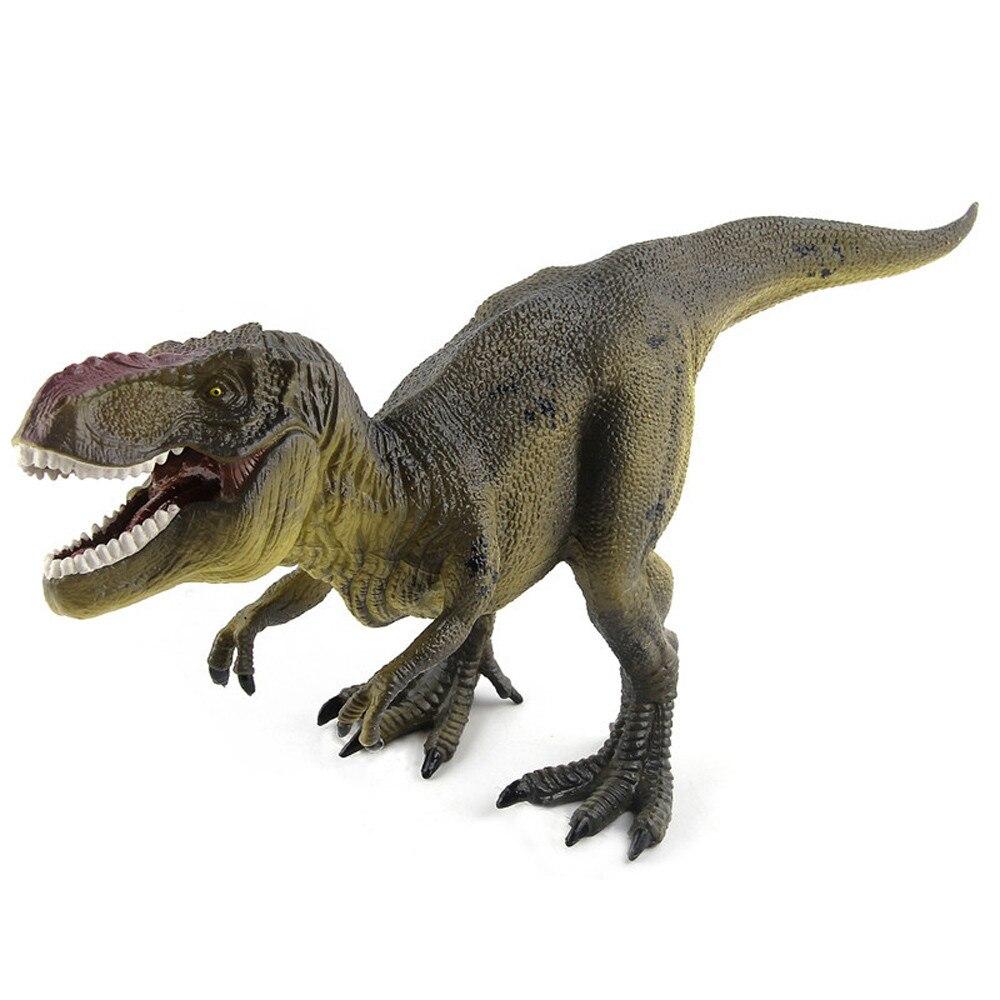 Развивающие имитация динозавров тираннозавр рекс модель детские игрушки динозавр игрушка в подарок для детей дети играют Fun17Dec28