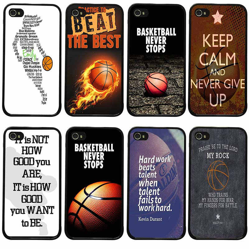 low priced 3958a 3e003 Detail Feedback Questions about Basketball Never Stops Quotes Cell ...