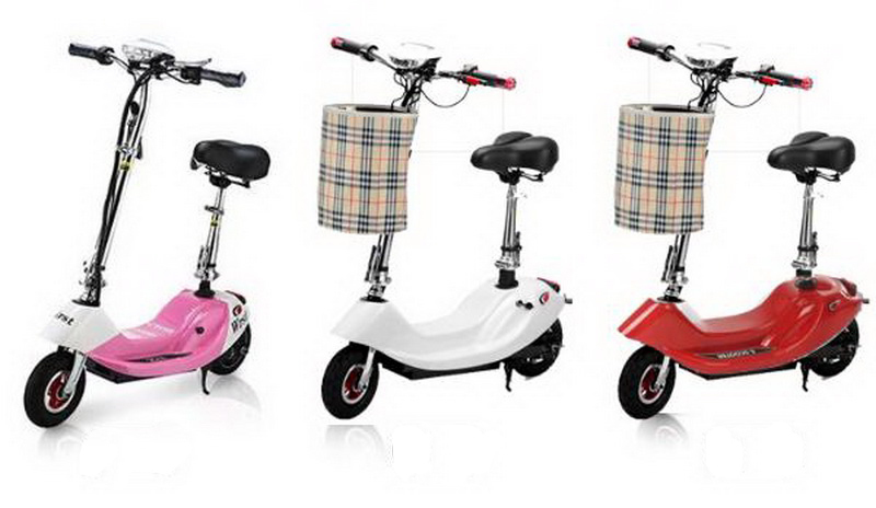 Top 261002/Ladies portable mini dolphin electric scooter / can carry children electric bikes / electric cars/Comfortable cushion 13
