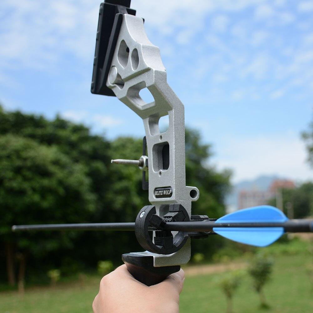 Arc de chasse professionnel 40lbs puissant arc classique tir à l'arc costume pour la chasse en plein air tir pratique flèches accessoires - 4