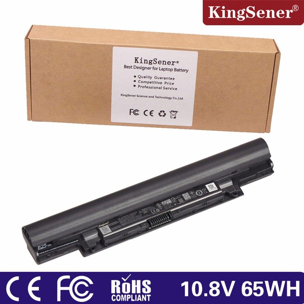 ФОТО KingSener 11.1V 65WH YFDF9 Laptop Battery for Dell V131 2 Series Latitude 3340 3350 JR6XC 5MTD8