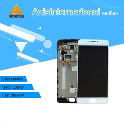 For Meizu m3 note M681Q IC 30pins or 34pins Axisinternational LCD screen display+touch digitizer with frame  free shipping
