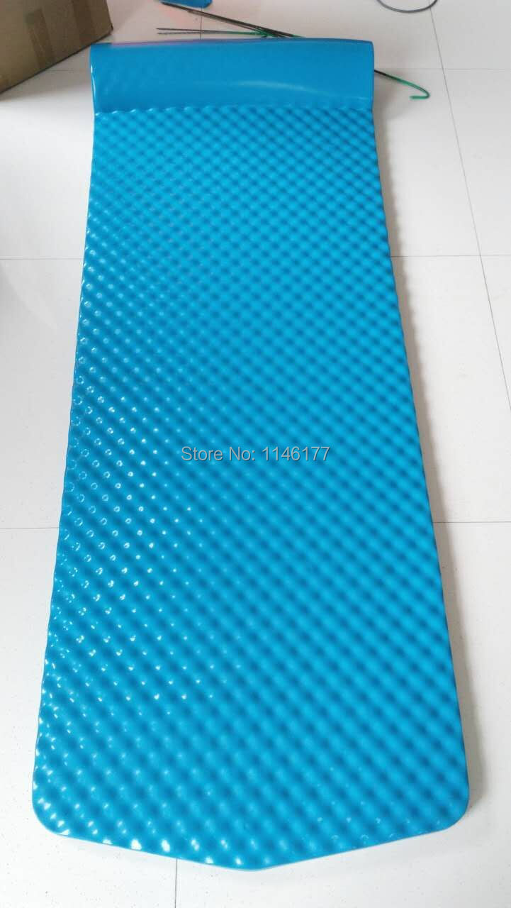 Sky Blue swimming beanbag bed outdoor hot spring water floating bed water bed floating bed surf factory outlets blue sky