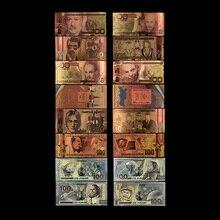 Русское золото банкнот 100 рублей продукт памятная монета Коллекция украшения подарок 8 шт./компл