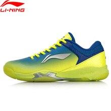 Li-Ning/Мужская профессиональная обувь для тренировок по бадминтону с подушкой, износостойкая подкладка BOUNSE+ спортивная обувь, кроссовки AYZN005 SOND18