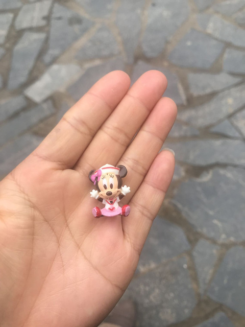 100pcs/lot 2.5cm classical sailor mickey minnie mouse very small figure toys cute sailor minine microlandschaft figures