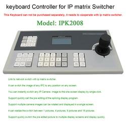 Profesjonalne 3 joysticka w osi akcesoria IP matrycy sterownik klawiatury onvif RS485 Systemy sterowania telewizji przemysłowej    -