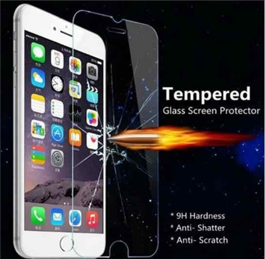 Ochronne szkło hartowane na ekran dla iPhone XR XS/X XS Max 8 7 Plus 6 Plus 5S 5 4S 4 najwyższa jakość 0.3mm wysoka wyczyść