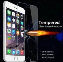 Tempered Glass Screen Protector For iPhone XR XS/X XS Max 8 7 Plus 6 Plus 5S 5 4S 4 Top Quality 0.3 mm High Clear(China)