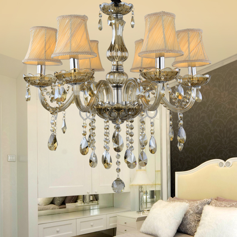 modern Large crystal chandeliers lights golden chandelier lighting Hanging Light Lustres De Cristal Lamp dining lustres de sala