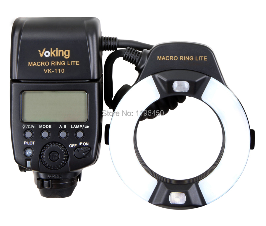 Voking TTL Macro Ring Flash VK-110C for Canon 1100D 700D 650D 600D 550D 500D 450D 7D 6D 5D Mark ii iii T5i T4i T3i DSLR CamerasVoking TTL Macro Ring Flash VK-110C for Canon 1100D 700D 650D 600D 550D 500D 450D 7D 6D 5D Mark ii iii T5i T4i T3i DSLR Cameras