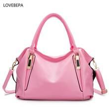 women leather handbags shoulder bag female fashion large tote bags  high quality bags handbags women famous brands 2017