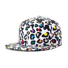 Unisex Baseball Print Snapback Caps Summer Hip Hop Dot Caps Leopard Print Caps For Man Streetwear Hats cap s25
