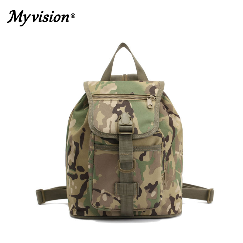Children's Camouflage Sports Bag Tactical Multi-function Outdoor Travel Bags Parent-child Shoulders Outdoor Backpack