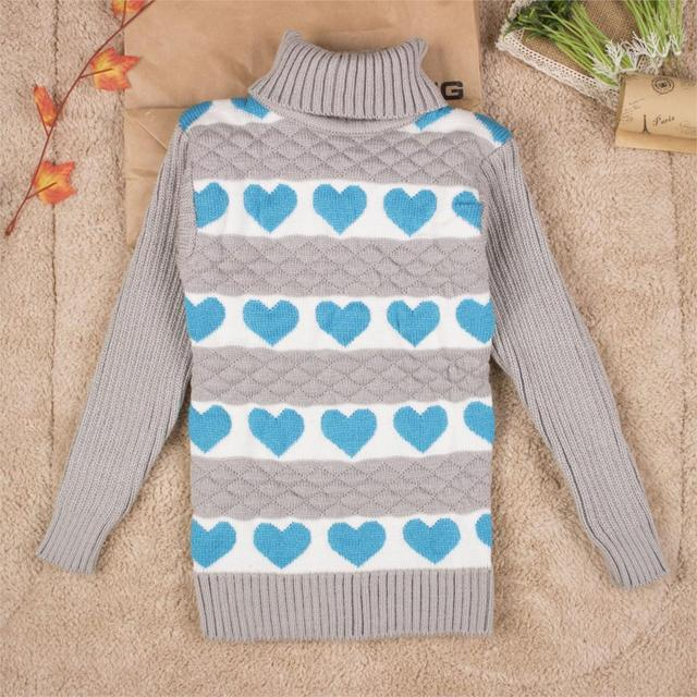 3c5ddd789 Big Size 2T 8T pullover winter autumn infant baby sweater boy girl ...