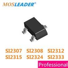 1000 PCS SOT23 SI2307 SI2308 SI2309 SI2312 SI2315 SI2324 SI2333 SOT23 Alta qualidade