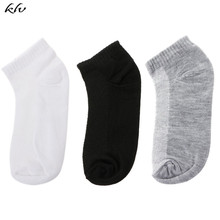 купить Baby Boys Socks Low-cut Boat Liners Socks Hosiery Mesh No Show Invisible Pure Color Baby Accessories дешево
