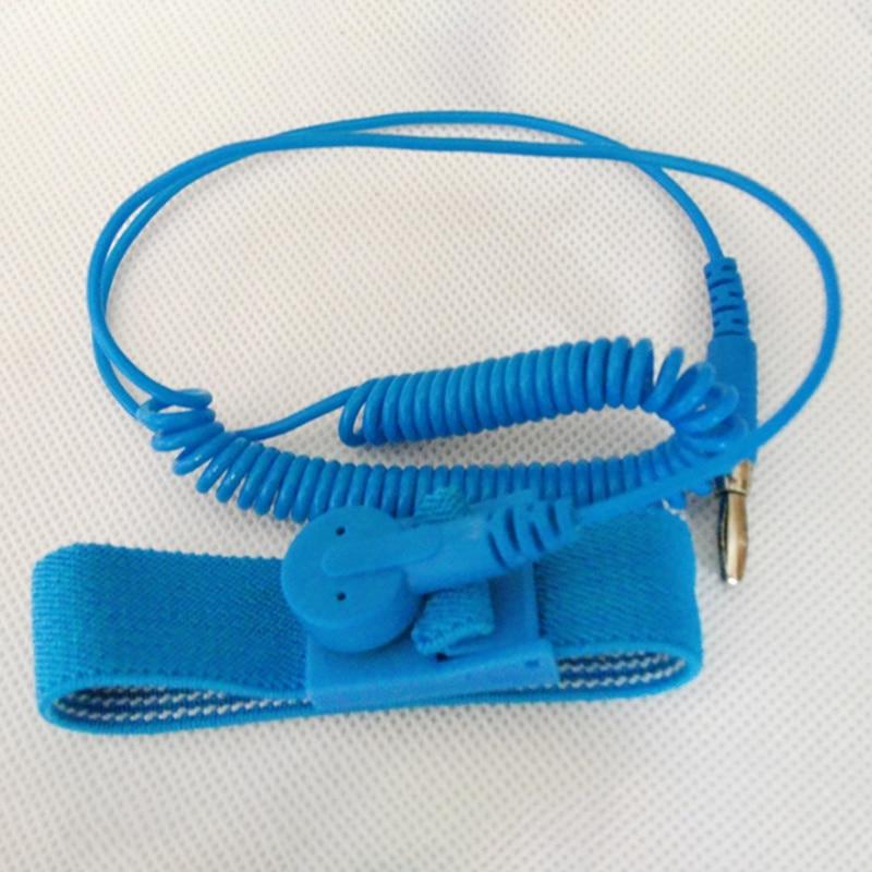 Anti Static Adjustable Wrist Strap Discharge Band Ground Bracelet Electronic X8