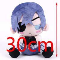 Sebastian Michaelis kuroshitsuji Kuroshitsuji Ciel Miękkie Pluszowe Zabawki Wypchane Zwierzę Doll 12 inch 30 cm